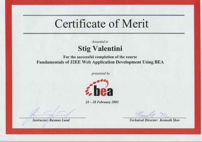 Fundamentals of J2EE Web Application Development Using BEA